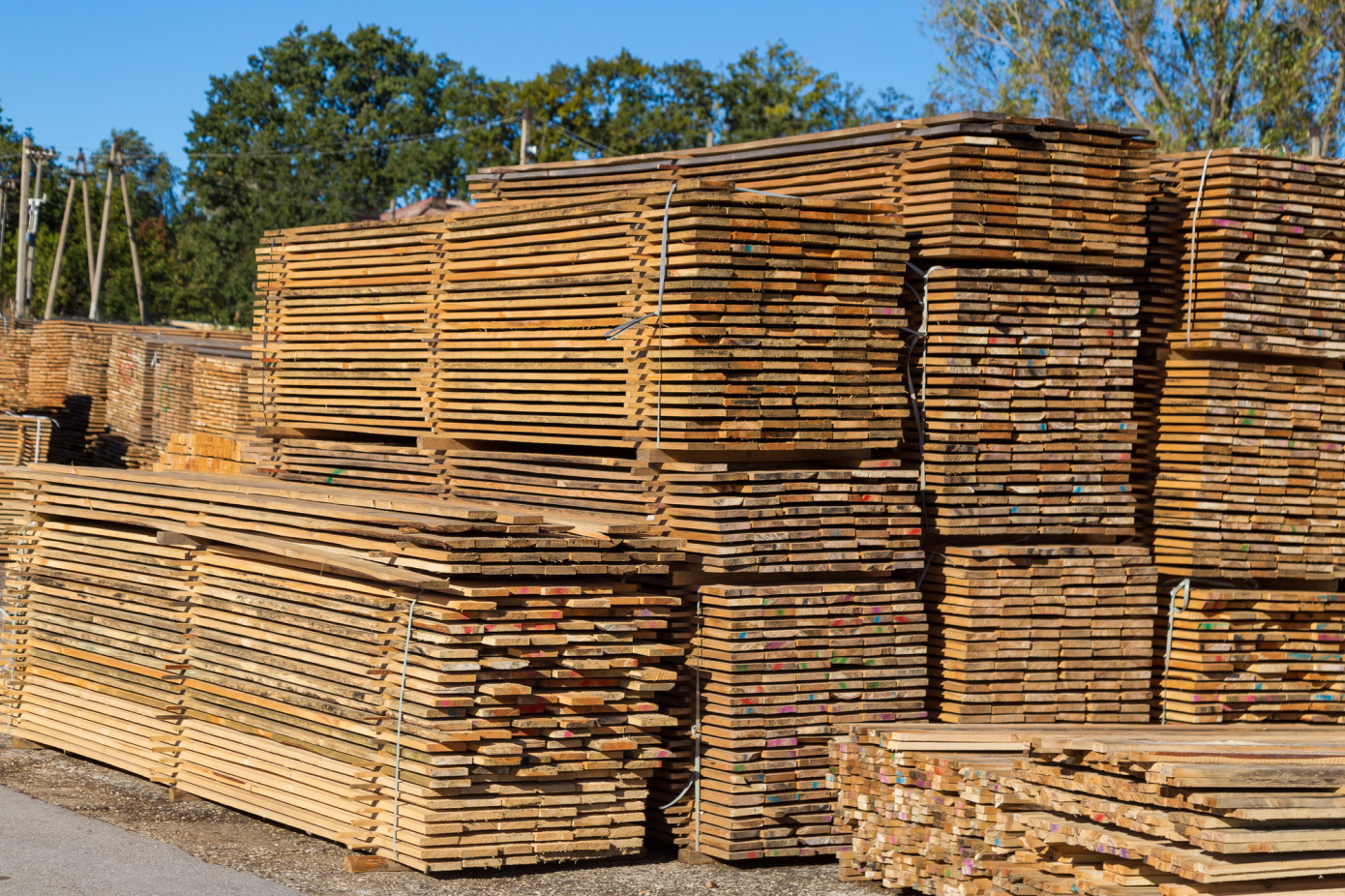 In January-September 2021, the volume of lumber exports from Russia to China decreased by 18%